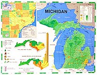 Map Lessons for Michigan Desk Top Map